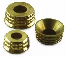 Brass Turned Screw Cups