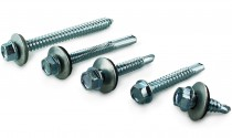 Hex Head Self-Drilling Tek Screws