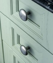 Finesse Pewter Cabinet Knobs