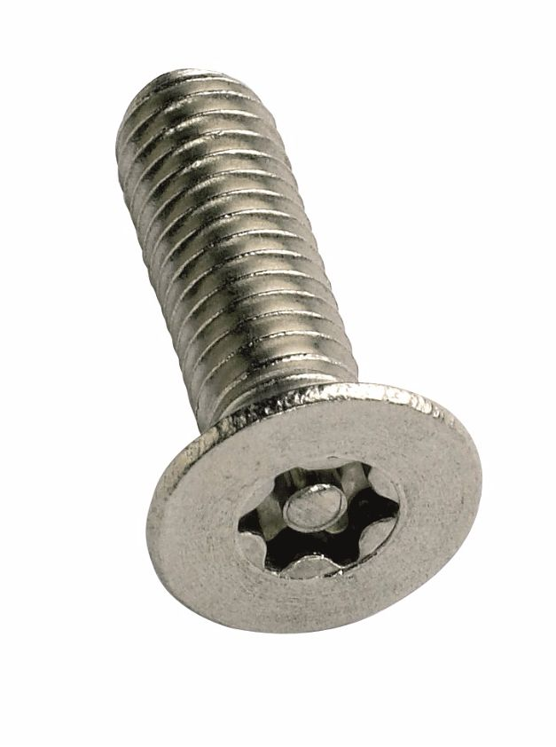 M3x16mm T10 6-Lobe Pin A2 Countersunk Screws