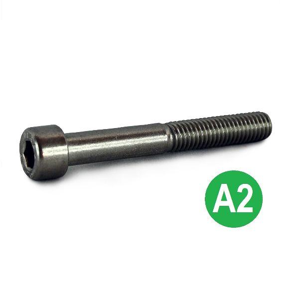 M6x80 A2 Socket Cap Head Screw DIN 912