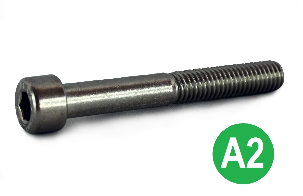 M12x50 A2 Socket Cap Head Screw DIN 912