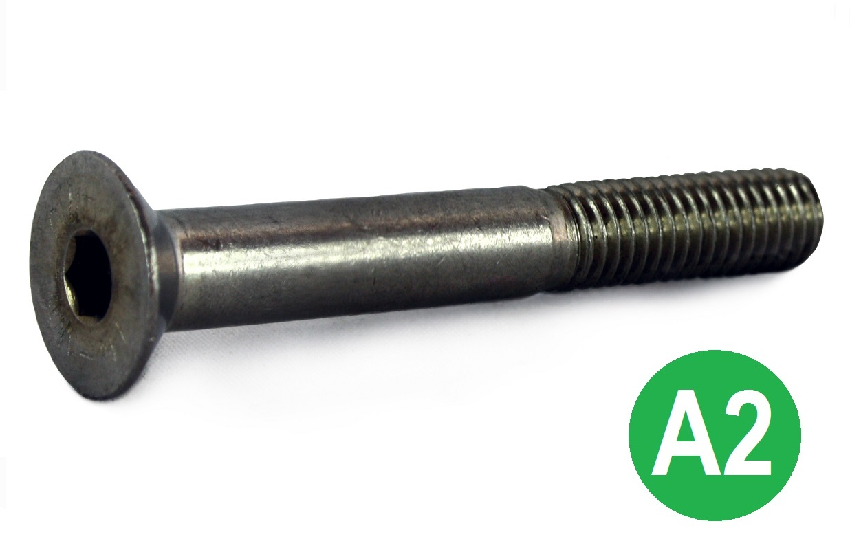 M8x60 A2 Socket CSK Head Screw DIN 7991