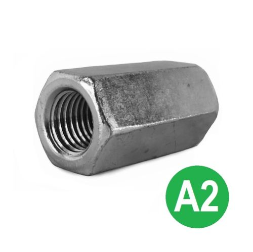 M10 A2 Stainless Studding Connector