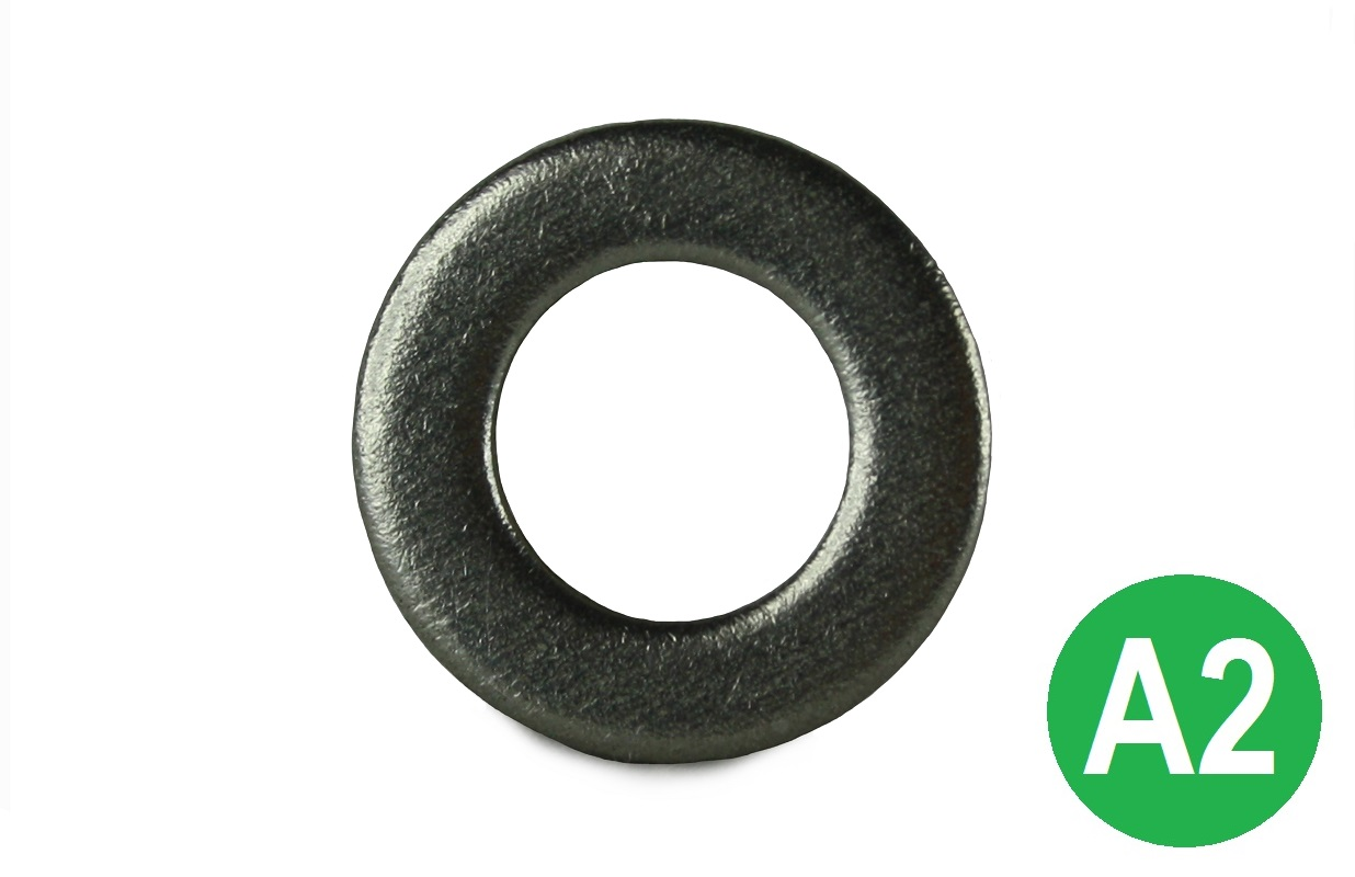 M10 A2 Form A Flat Washer DIN 125A