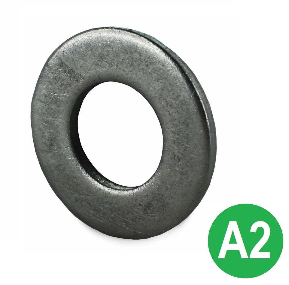 M8 A2 Form C Flat Washer BS 4320