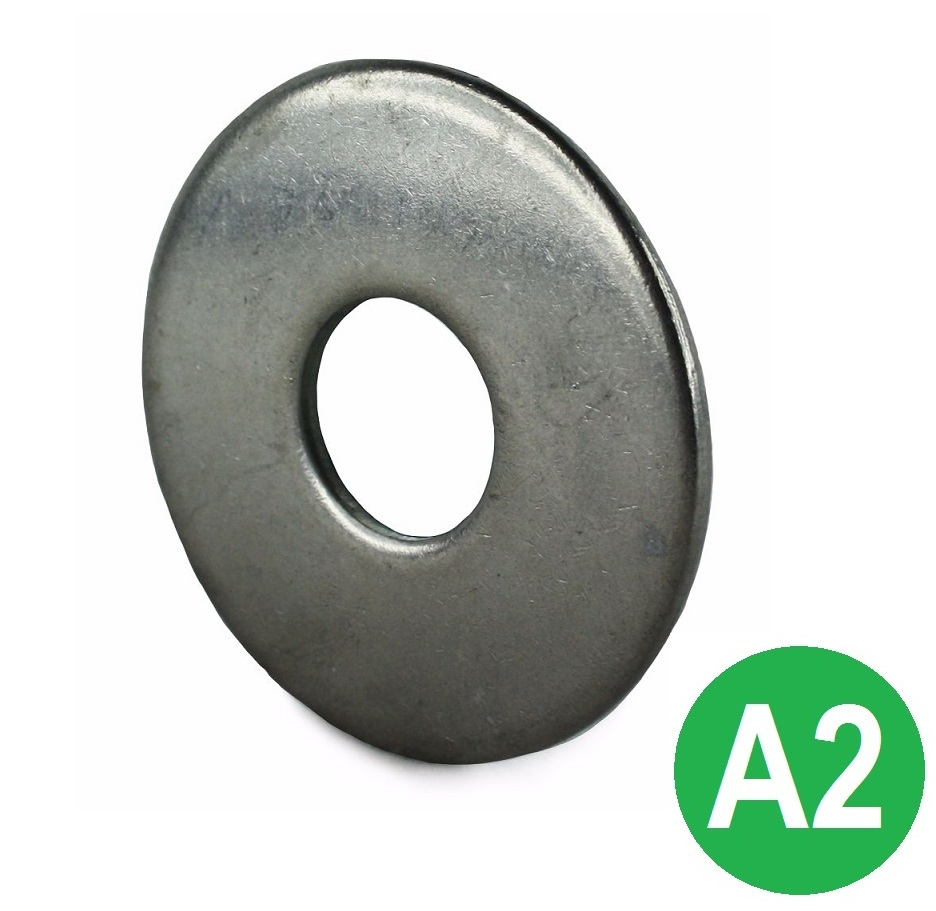 M10 A2 Form G Flat Washer DIN 9021