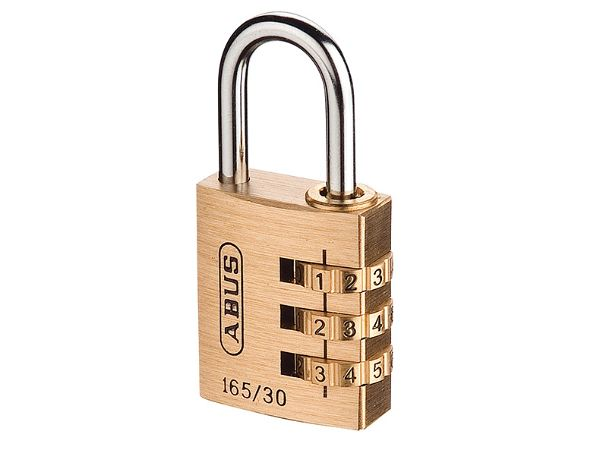 Abus 165/30 30mm 3 Digit Combination Padlock