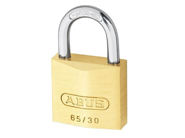 Abus 65/30 30mm Brass Padlock Twin Pack
