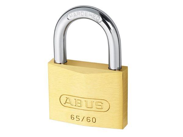 Abus 65/60 60mm Brass Padlock
