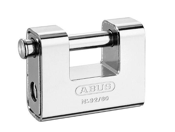 Abus 92/80 80mm Brass Body Shutter Padlock
