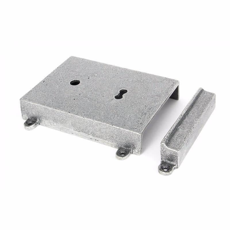 Anvil 33394 Pewter Rim Lock + Cast Iron Cover