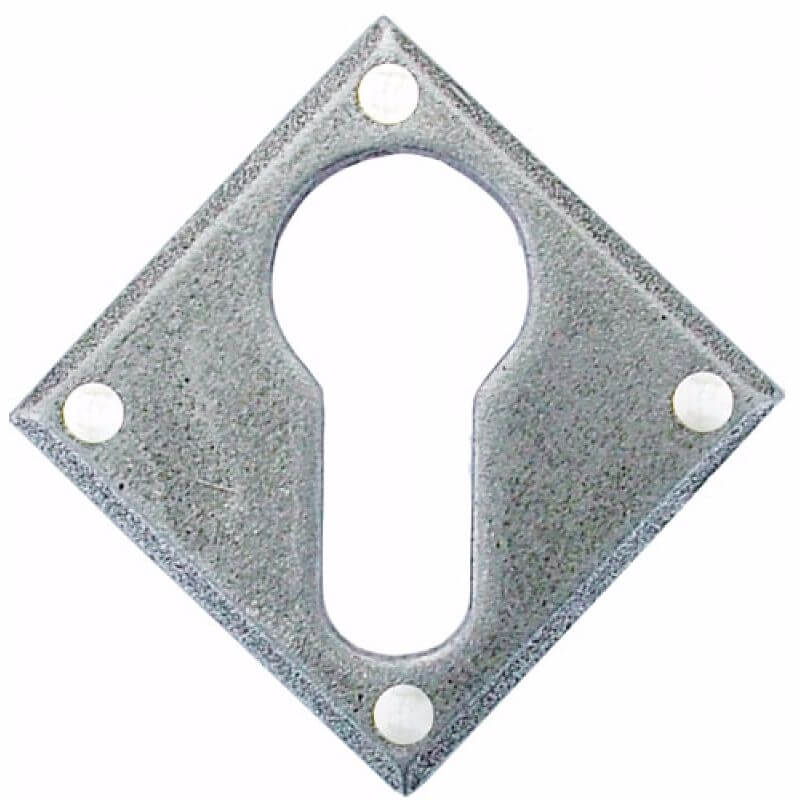 Anvil 33622 Pewter Diamond Euro Escutcheon