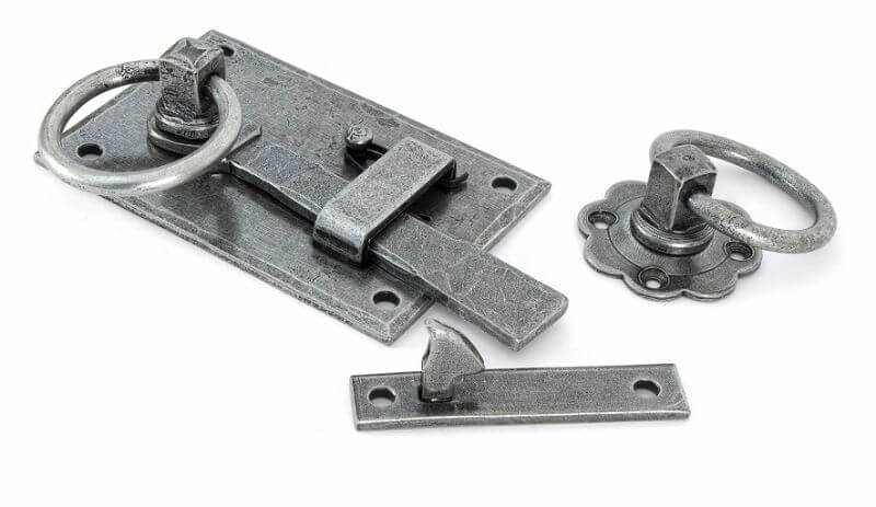Anvil 33666 Pewter Cottage Latch - LH