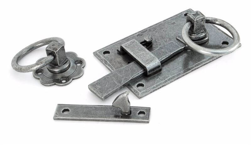 Anvil 33667 Pewter Cottage Latch - RH