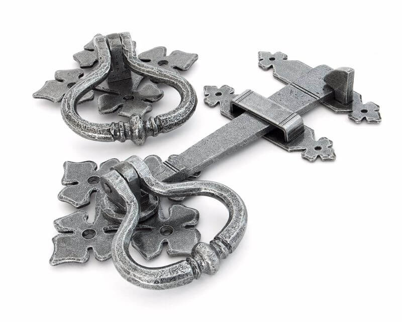 Anvil 33685 Pewter Shakespeare Latch Set