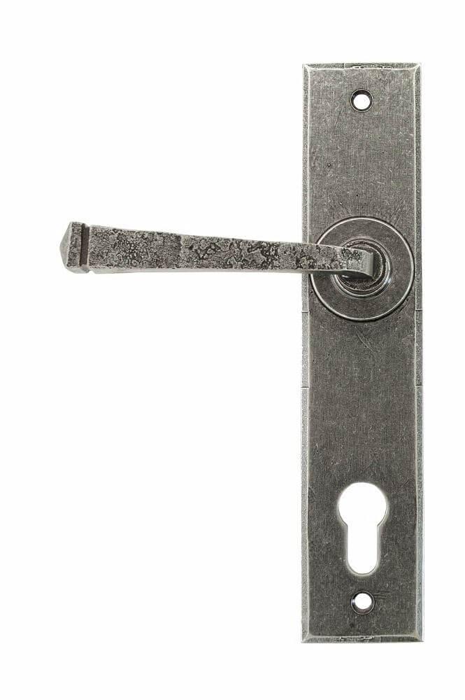 Anvil 33704 Pewter Avon Lever Espag. Lock Set