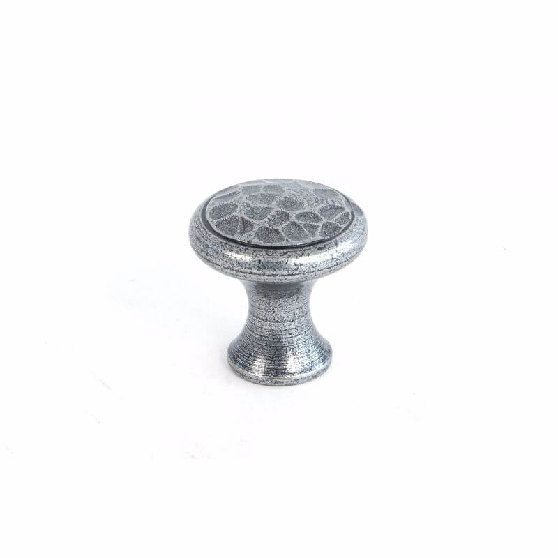 Anvil 33705 Pewter Beaten Cupboard Knob Small