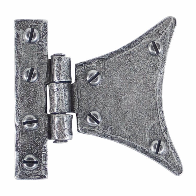 Anvil 33782 Pewter 2'' Half Butterfly Hinge