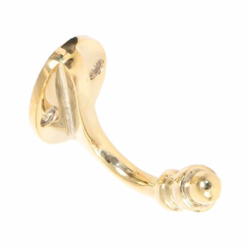 Anvil 83524 Pol. Brass Coat Hook