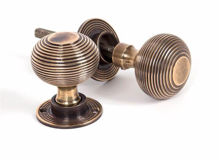 Anvil 83633H Antique Brass Mortice/Rim Knobs
