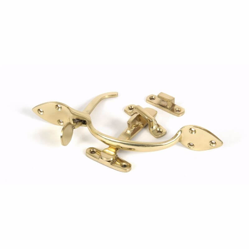 Anvil 90241 Polished Brass Suffolk Latch Set