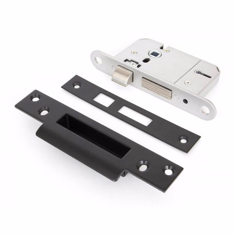 Anvil 91065 Black 2½ in. 5 Lever BS Sash Lock
