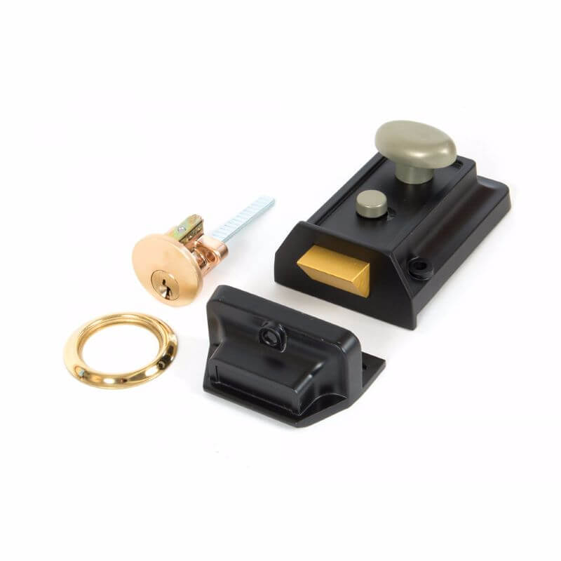 Anvil 91093 Black Traditional Night Latch