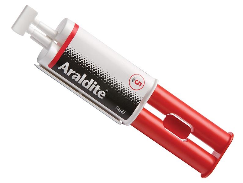 Araldite Rapid Epoxy Adhesive 24ml Syringe