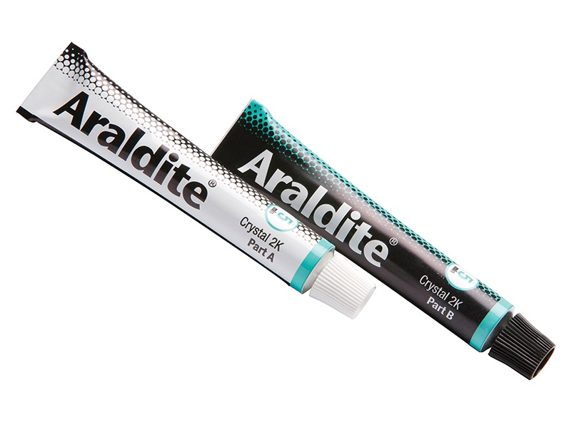 Araldite Crystal Epoxy Adhesive (2 x 15ml)