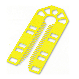 Broadfix Large Plastic Shims Yellow 1mm