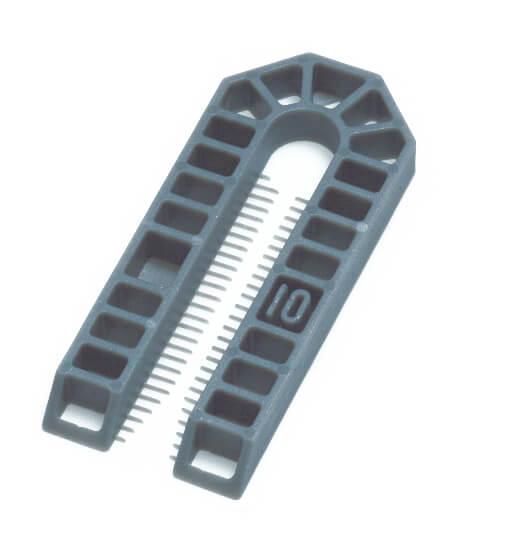 Broadfix Large Plastic Shims Grey 10mm