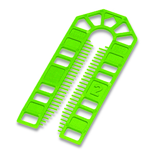 Broadfix Large Plastic Shims Green 2mm