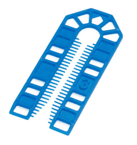 Broadfix Large Plastic Shims Blue 3mm