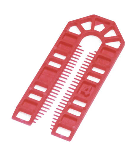 Broadfix Large Plastic Shims Red 4mm