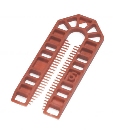 Broadfix Large Plastic Shims Brown 5mm