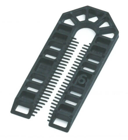 Broadfix Large Plastic Shims Black 6mm