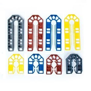 Broadfix Plastic Shims Assorted (200)