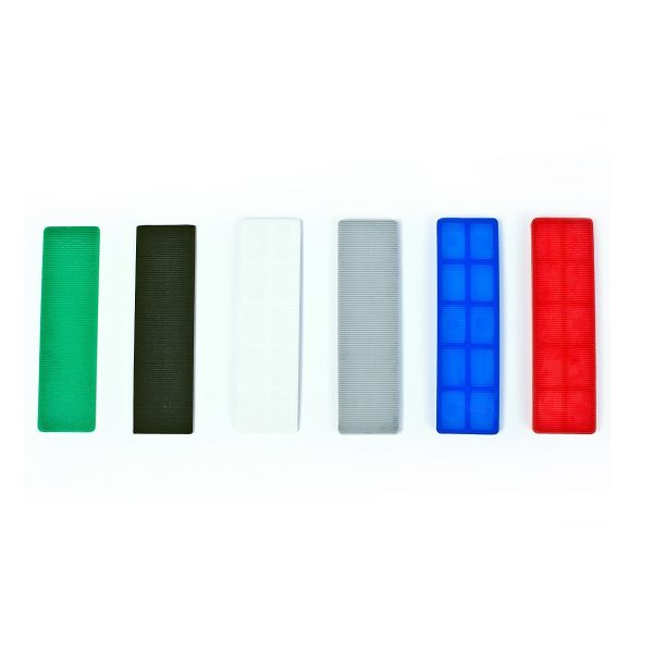 Broadfix Flat Glazing Shims Assorted Box 1000