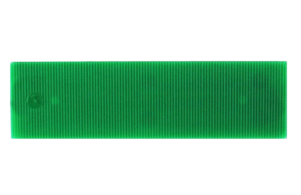 Broadfix Flat Glazing Shims Green 1mm