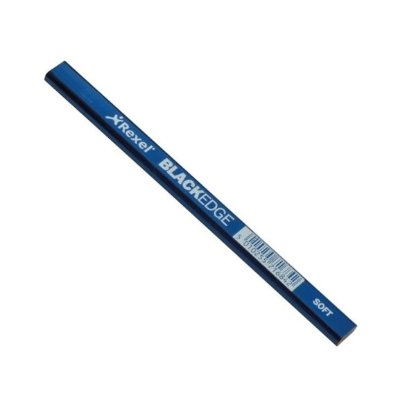 Blackedge Carpenters Pencil - Blue / Soft