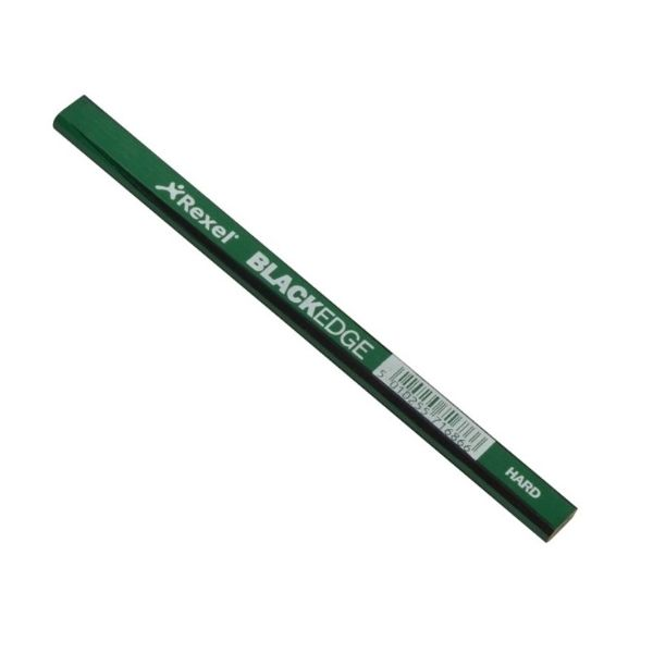 Blackedge Carpenters Pencil - Green / Hard