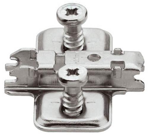 Blum Back Plate 0mm Spacing With Euro Screws