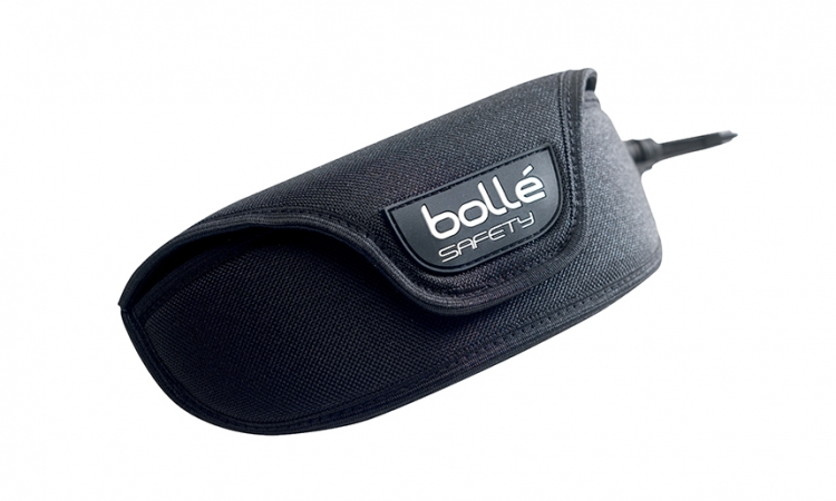 Bollé Black Case With Belt Clip + Loop