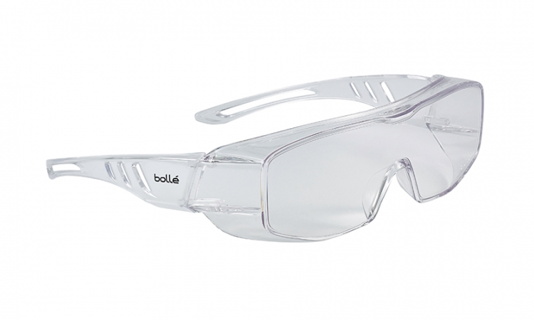 Bollé Overlight Over-Glasses Clear Lens