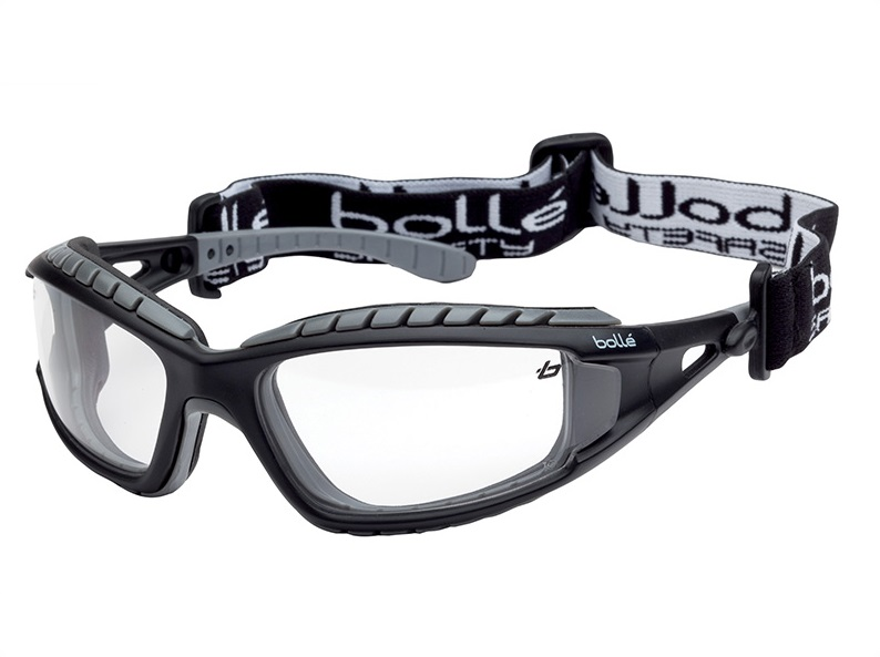 Bollé Tracker Safety Glasses Vented Clear