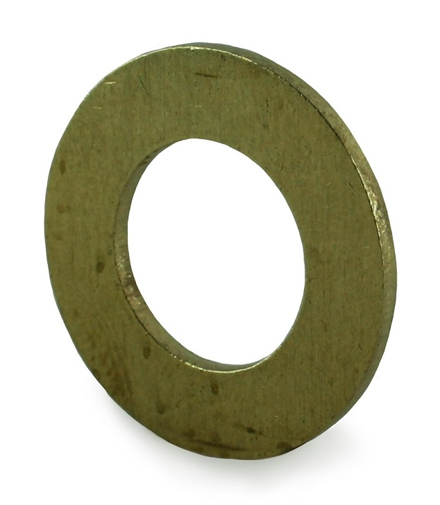 M12 Brass Form B Flat Washer BS 4320