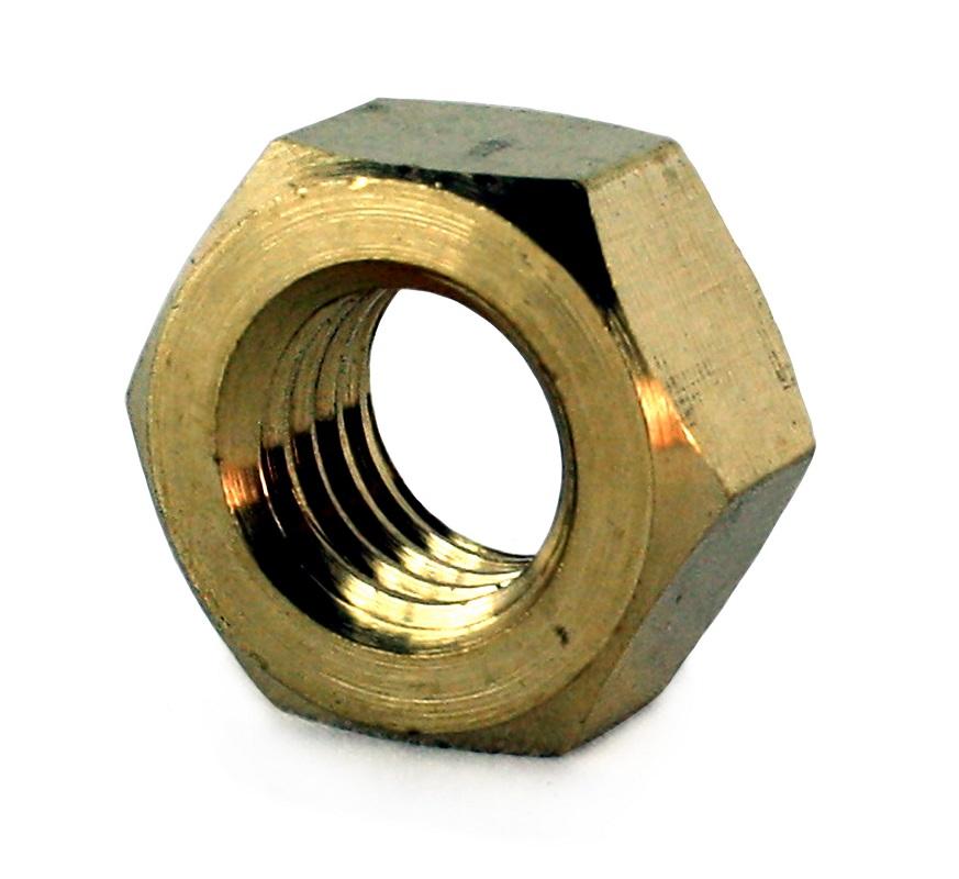 M6 Brass Full Nut DIN 934