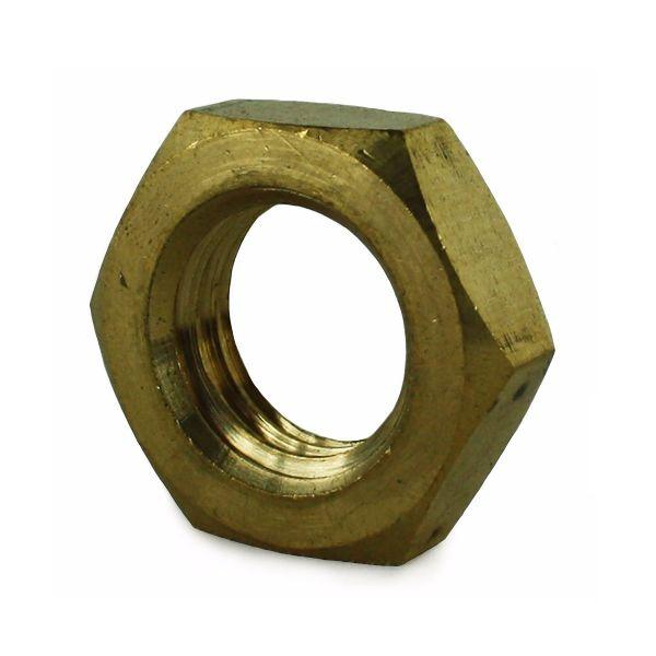 M10 Brass Lock (Half) Nut DIN 493B