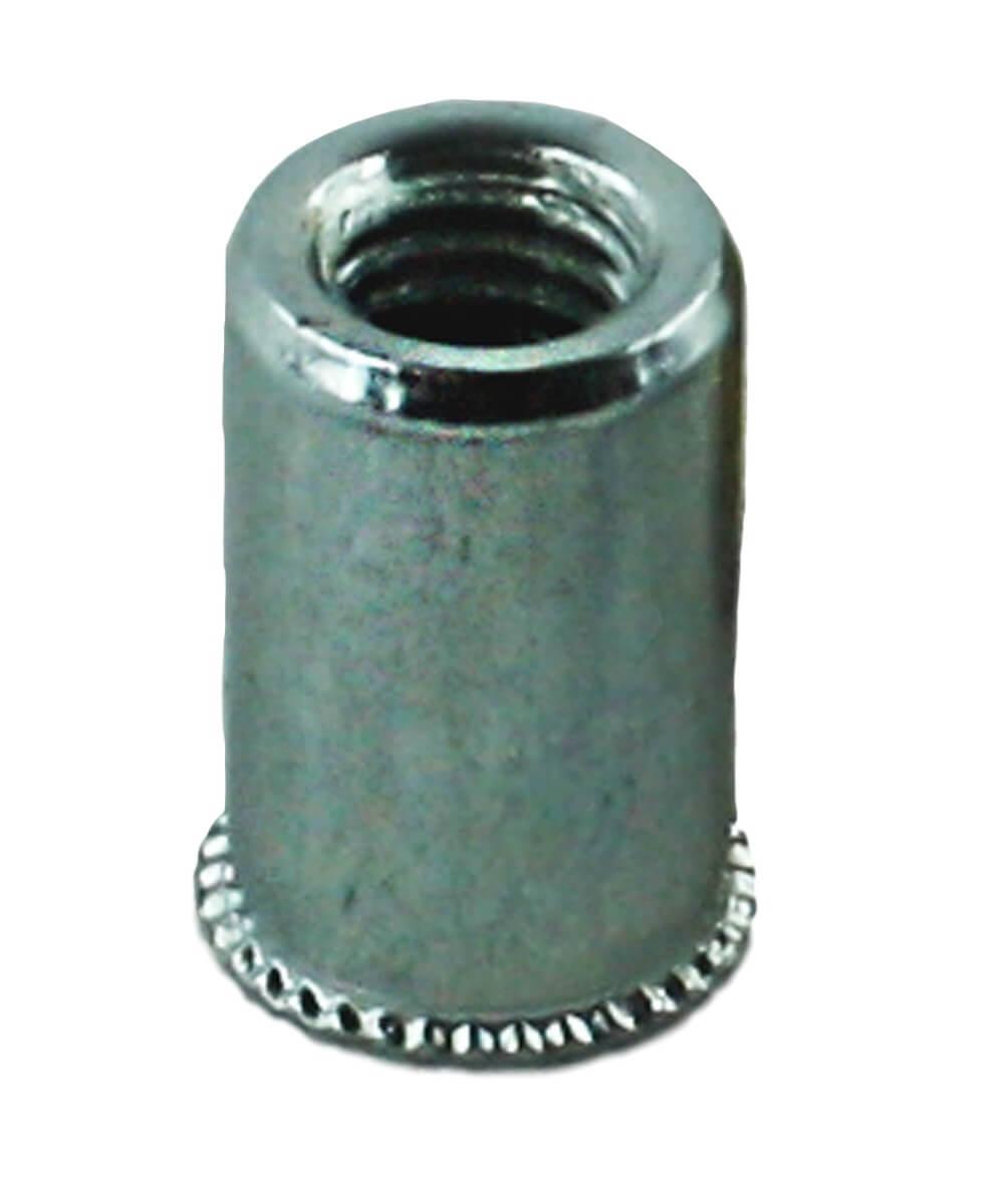 M4 Blind Thin Sheet Steel Rivnuts Zinc CR-3